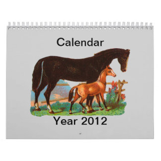 Animales Calendario De Pared