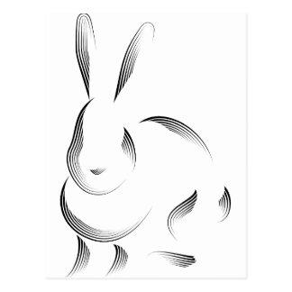 Animales - conejo tarjetas postales