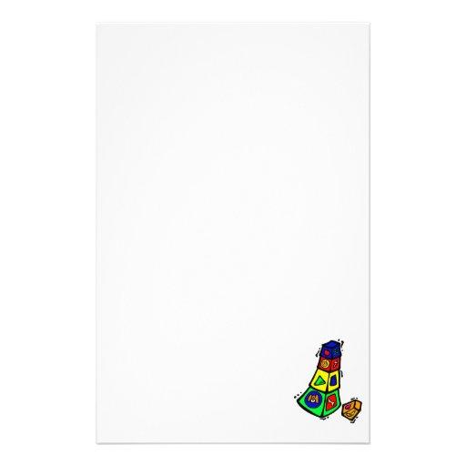 animales cuadrados gráficos del juguete del bloque papelería de diseño