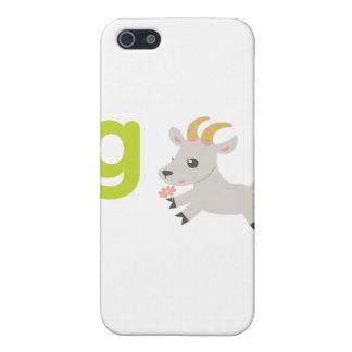 Animales de ABC - cabra locuaz iPhone 5 Funda