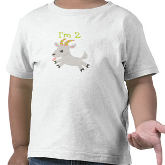Animales de ABC camiseta de 2 años