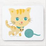 Animales de ABC - gato de Carrie Tapete De Raton