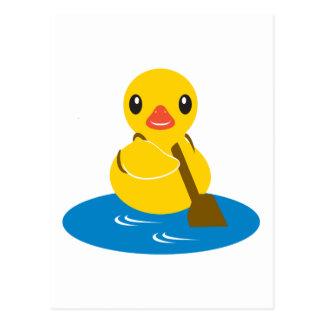 Animales de ABC - pato de la paleta Tarjetas Postales