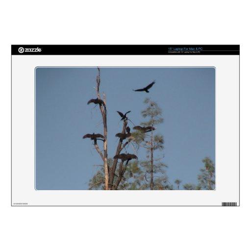 Animales de Aves de los pájaros de la fauna de Yol Portátil 38,1cm Skin
