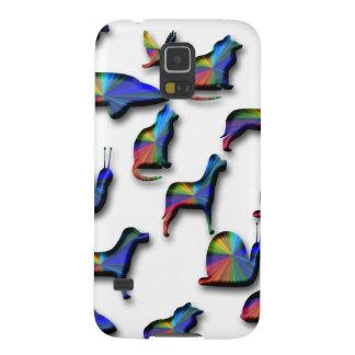 Animales de Digitaces Carcasa Galaxy S5
