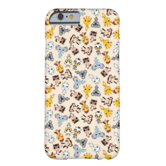 Animales de Kawaii Funda De iPhone 6 Barely There