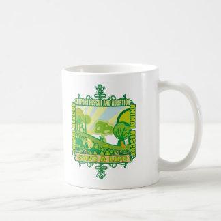 Animales de la ayuda tazas de café
