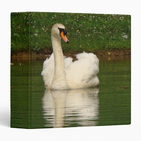 """Animales de la fauna de los pájaros del cisne carpeta 1 1/2"""""""