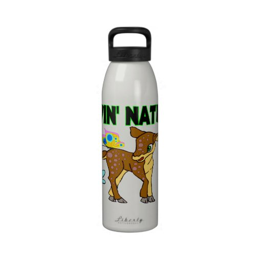 Animales de la naturaleza de Lovin Botellas De Agua Reutilizables
