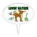 Animales de la naturaleza de Lovin Figura De Tarta