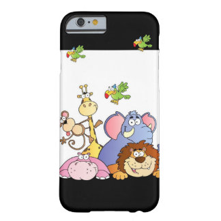 Animales de la selva funda de iPhone 6 barely there