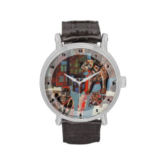 Animales de Pavel Filonov- Reloj