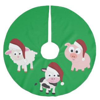 Animales del campo del navidad