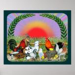 Animales del campo poster