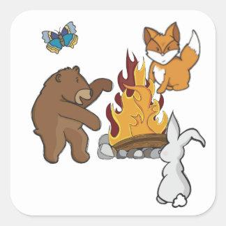 Animales del fuego del campo