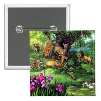 Animales del vintage pin
