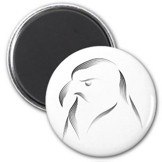 Animales - Eagle 1 Imán Redondo 5 Cm