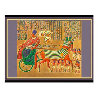 ANIMALES egipcios Tarjeta Postal