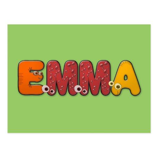 animales Emma del alfabeto Postales