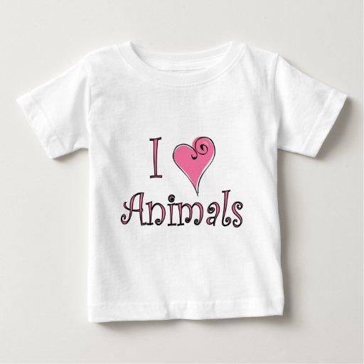 Animales I (del corazón) T-shirt