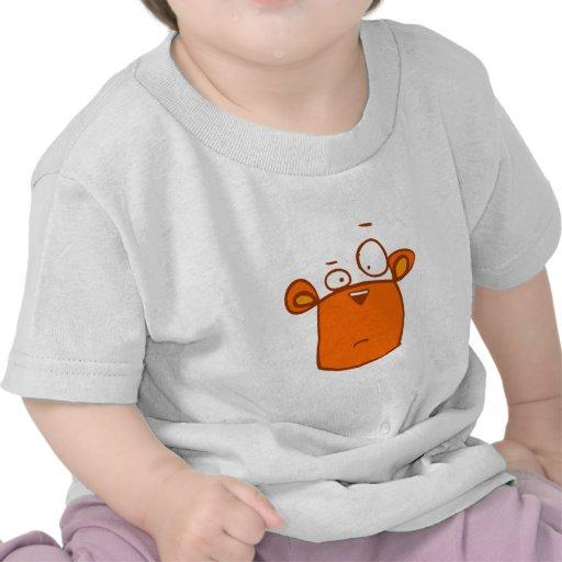 animales lindos del dibujo animado - ardilla camisetas