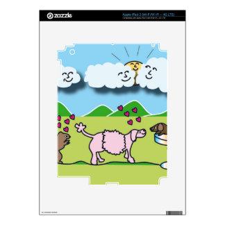 Animales lindos iPad 3 pegatina skin