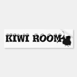 Animales lindos: Kiwi Pegatina Para Auto