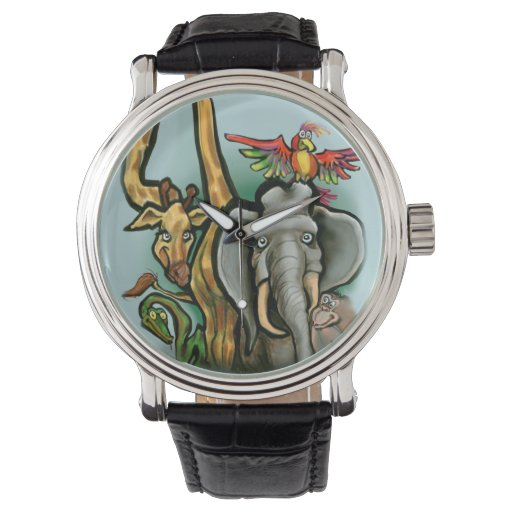 Animales Reloj