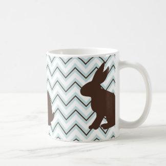 Animales retros en los galones - conejos de taza
