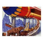 Animales salvajes de la arca de Noah de la ciencia