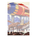 Animales salvajes de la arca de Noah de la ciencia Papeleria De Diseño