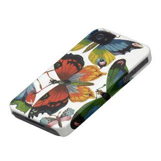 Animales salvajes del vintage, insectos, insectos, Case-Mate iPhone 4 funda