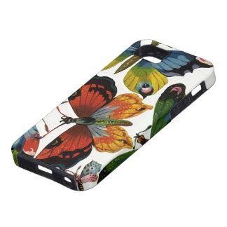 Animales salvajes del vintage, insectos, insectos, iPhone 5 protectores