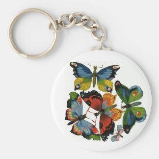 Animales salvajes del vintage, insectos, insectos, llaveros personalizados