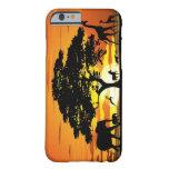 Animales salvajes en el caso del iPhone 6 de la