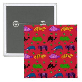 Animales - tortugas púrpuras y elefantes azules pins