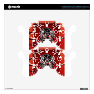 ANIMALIA MUSIC BACK CUSTOMIZABLE PRODUCTS PS3 CONTROLLER DECAL