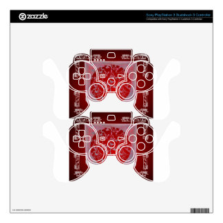 ANIMALIA RED CUSTOMIZABLE PRODUCTS SKIN FOR PS3 CONTROLLER