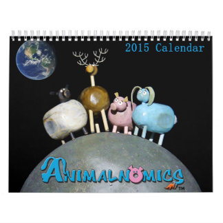 Animalnomics funny animal calendar