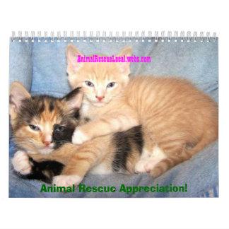 AnimalRescueLocal con MotherGoddessEarth Calendario