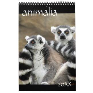 animals 2018 calendar
