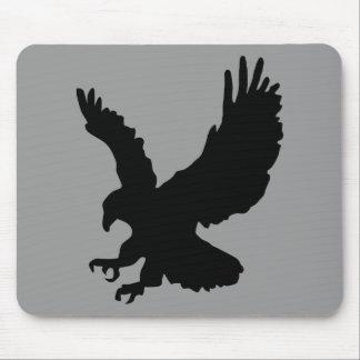animals-24009 animals, head, red, black, icon, tri mousepad