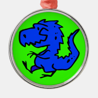 animals-24742  animals dinosaurs dino dinosaur ani round metal christmas ornament