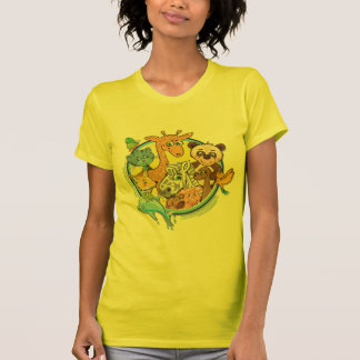 Animals 2 All Together - ladies t-shirt