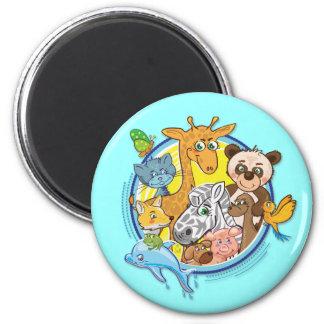 Animals 2 All Together - magnet