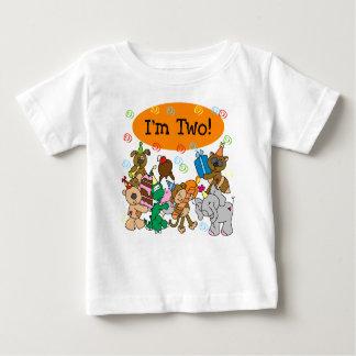 Animals 2nd Birthday Baby T-Shirt