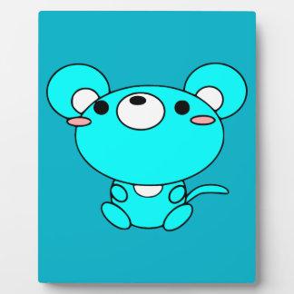 animals-30792 CUTE CARTOON  animals mouse cartoon Plaques
