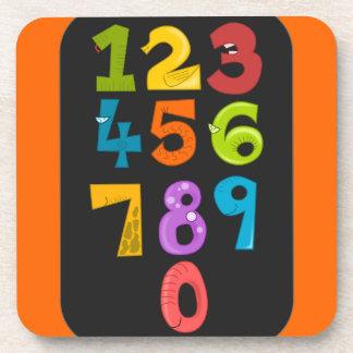 animals-40904 animals school NUMBERS COLORFUL educ Coaster
