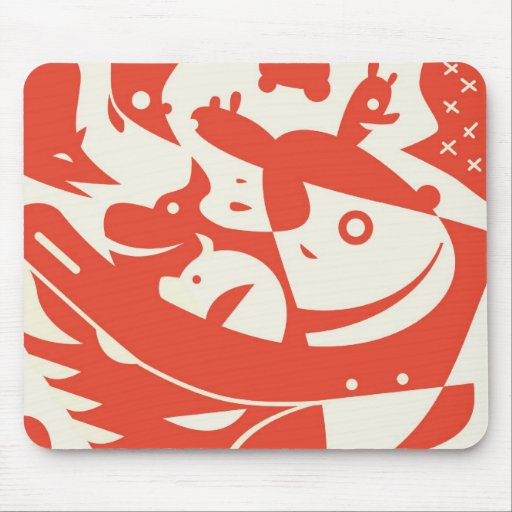 Animals Abstract Mousepad