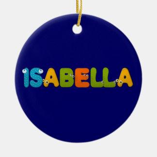 animals alphabet Isabella Ceramic Ornament